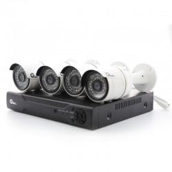 KIT 4 cámaras + DVR  4...