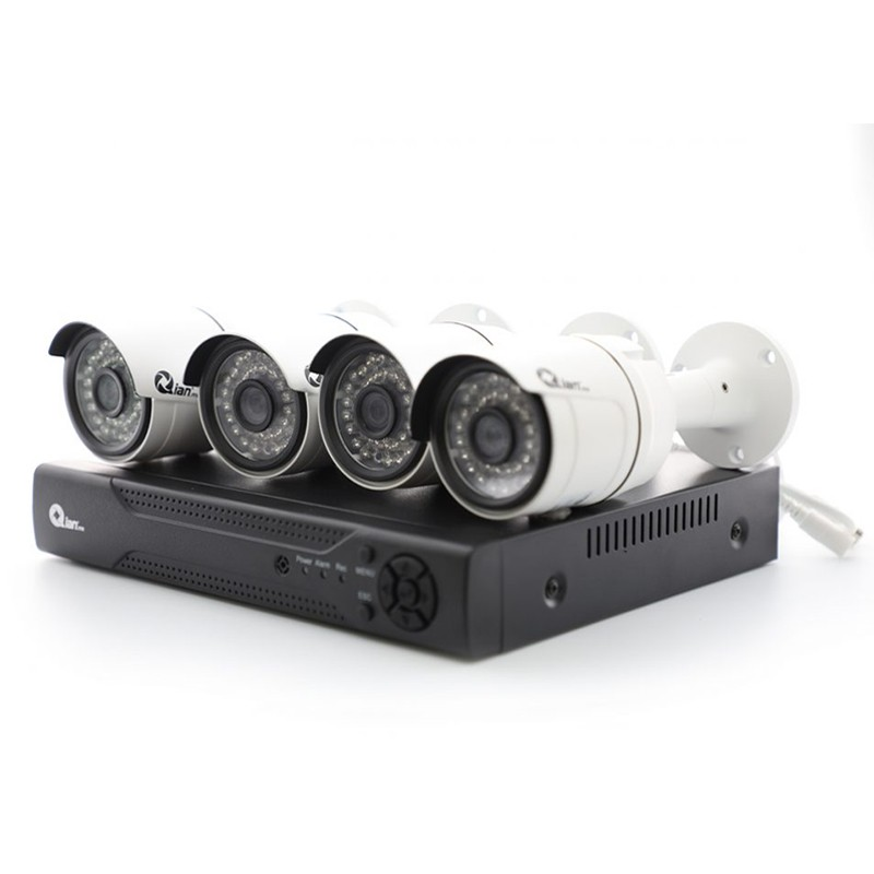 KIT 4 cámaras + DVR  8...