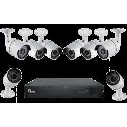 KIT 8 cámaras + DVR  8...